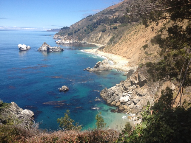 Just a view from a stop along the PCH (Pacific Coast Highway).