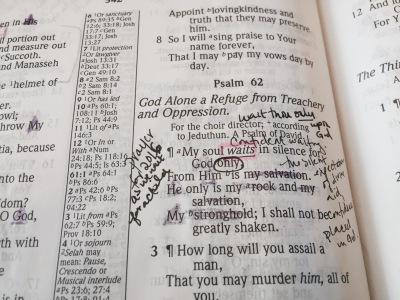Psalm62